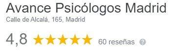 Opiniones Avance Psicólogos